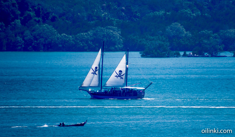 Pirates of Phanga Bay, Phuket, Thailand, Phanga bay, Ao Por, Sailing