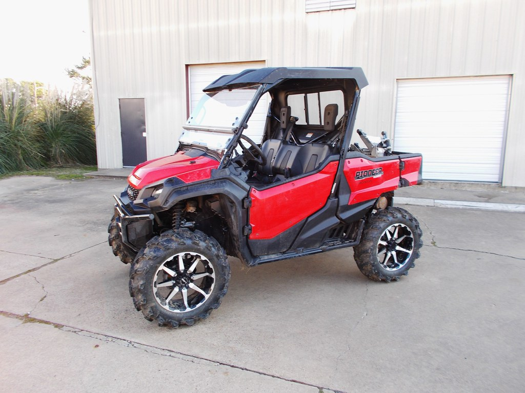 "Honda 700 Pioneer >> Pioneer 1000 CATVOS 3"" lift with plus 2 forward control ar… | Flickr"