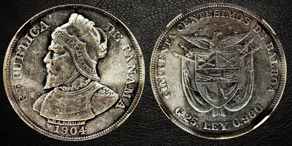 50 CENTESIMOS PANAMA 1904 25165933009_7e8c8c126b_b