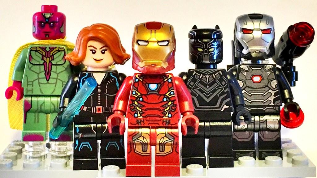 LEGO Civil War: Team Iron Man | Chris Blight | Flickr Lego Iron Man 3 Suits