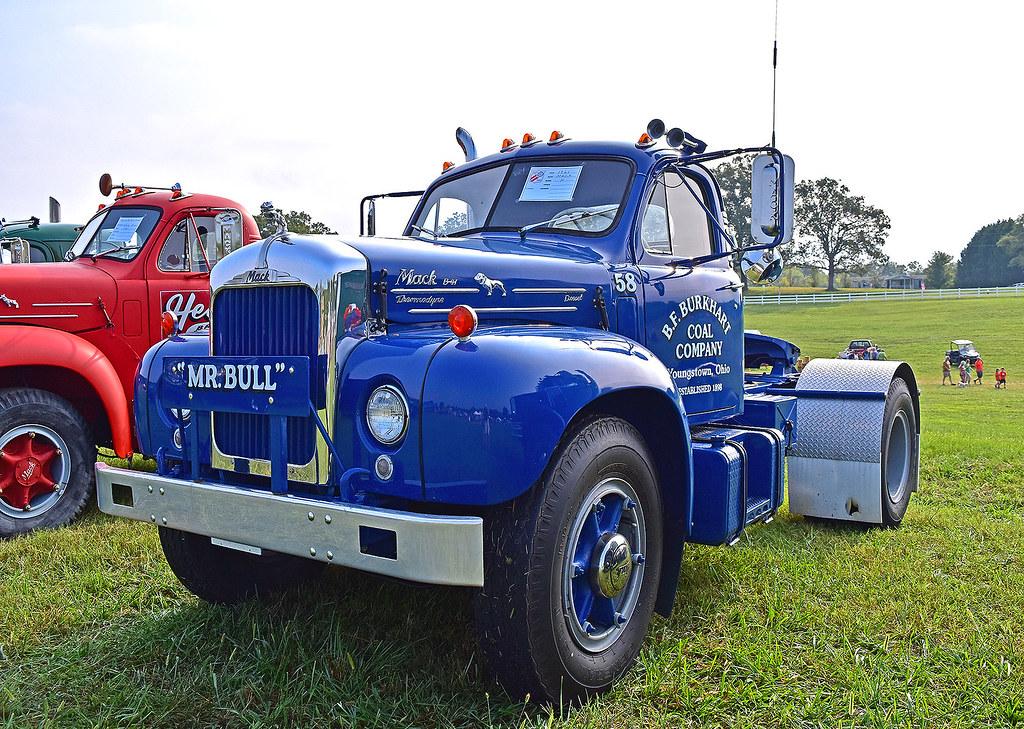 B 61 Mack Thermodyne : Mack b thermodyne diesel at the rd annual