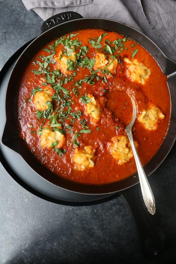 OPA SQUASH DUMPLINGS IN SPICY CURRY-Kofta Curry.  @foodfashionparty