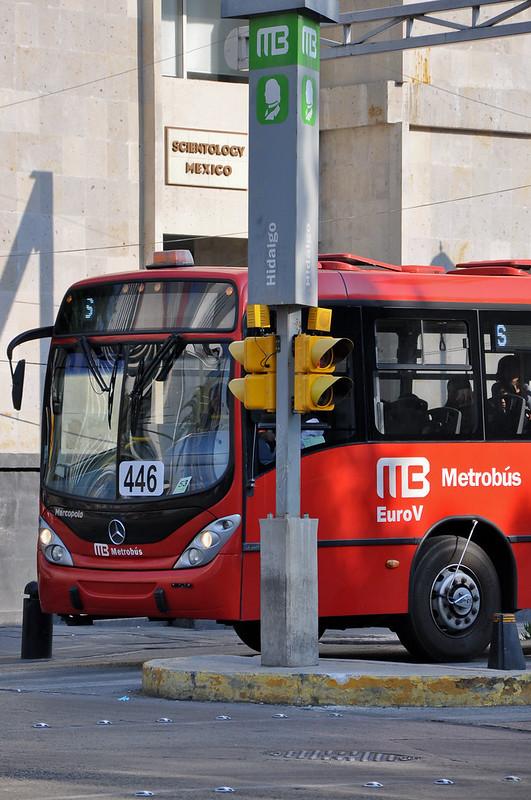 Metrobús, Cidade do México (Foto: Mariana Gil/WRI Brasil Cidades Sustentáveis)
