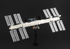 International Space Station by Legopard