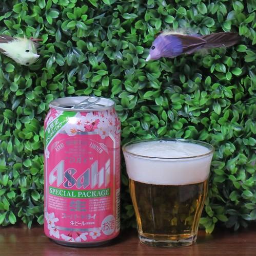 ビール:スーパードライ春限定パッケージ