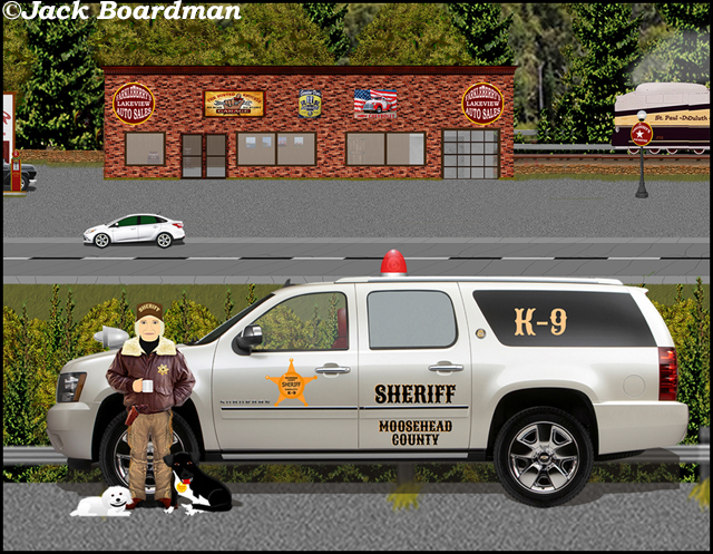 """It can't be Sheriff Boomer; can it?"" ©Jack Boardman"