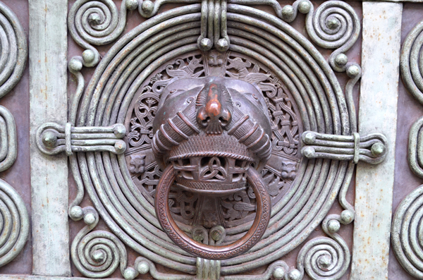 The Bishop's Knocker, Altstadt, Freiburg, Germany