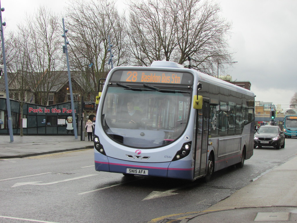First Essex Buses 47644 Southend Warrior Square 9 April 20 Flickr
