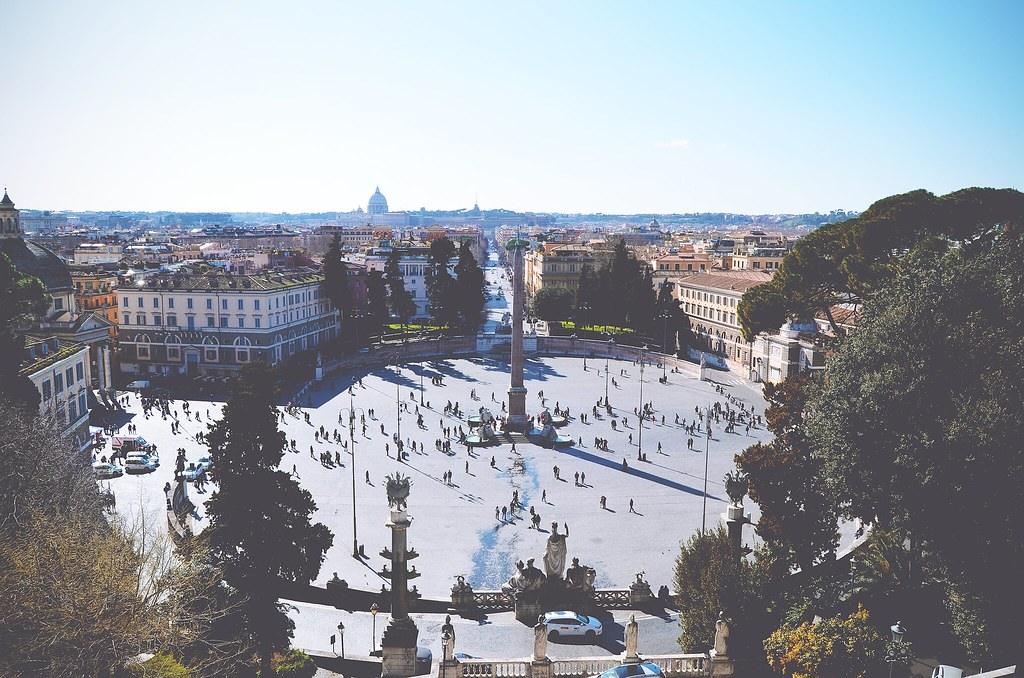 Piazza del Popolo, Rome | via It's Travel O'Clock