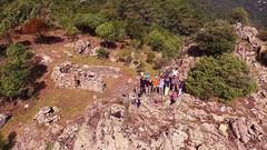 Le plateau de Ranedda depuis un drone