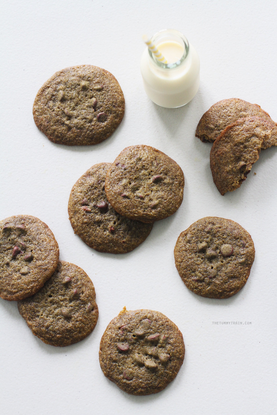 26651882202 466e89ee84 h - Let's make Matcha Chocolate Chip Cookies for a change!