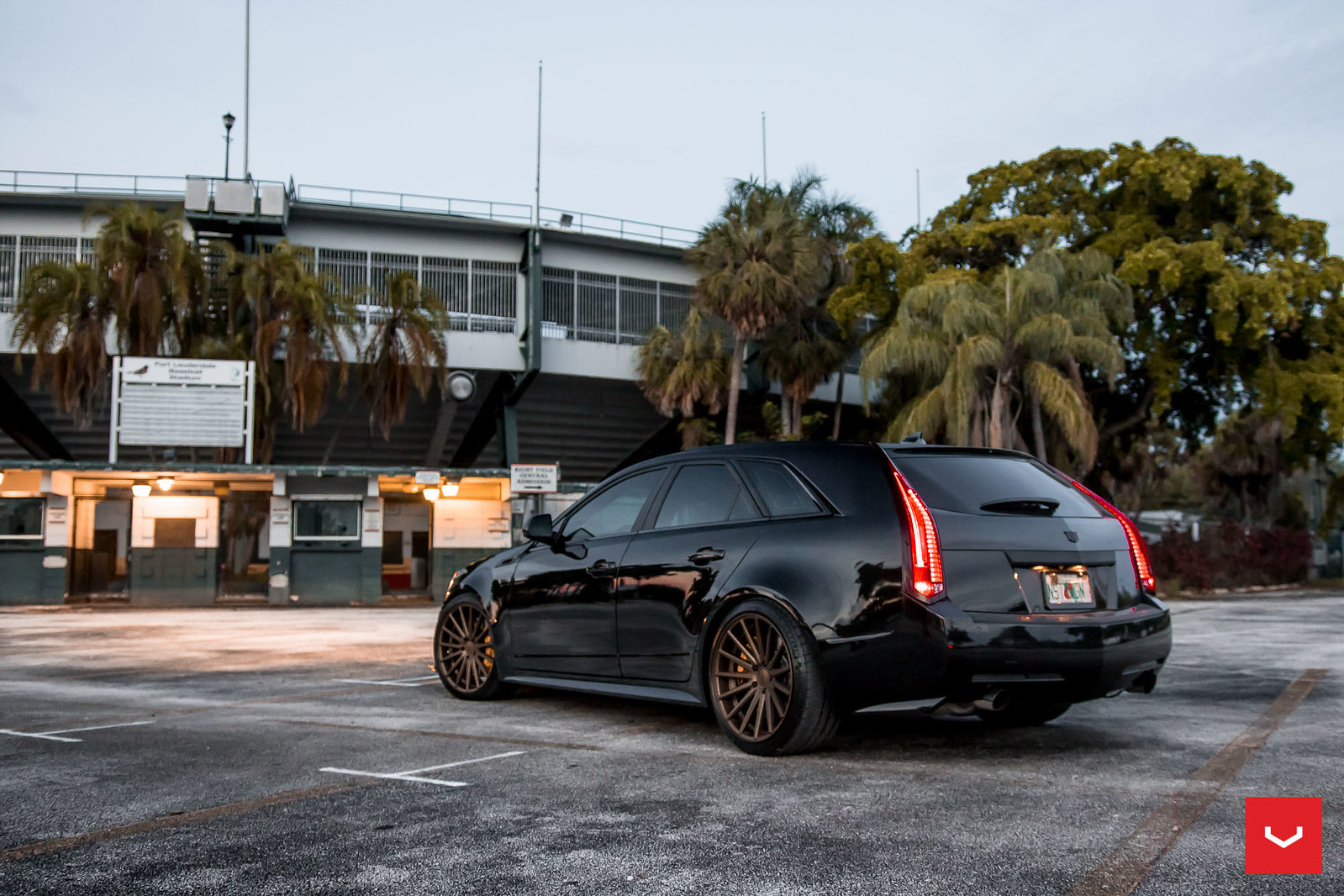 850hp Cadillac CTS-V Wagon on Vossen VFS-2 - Vossen Wheels