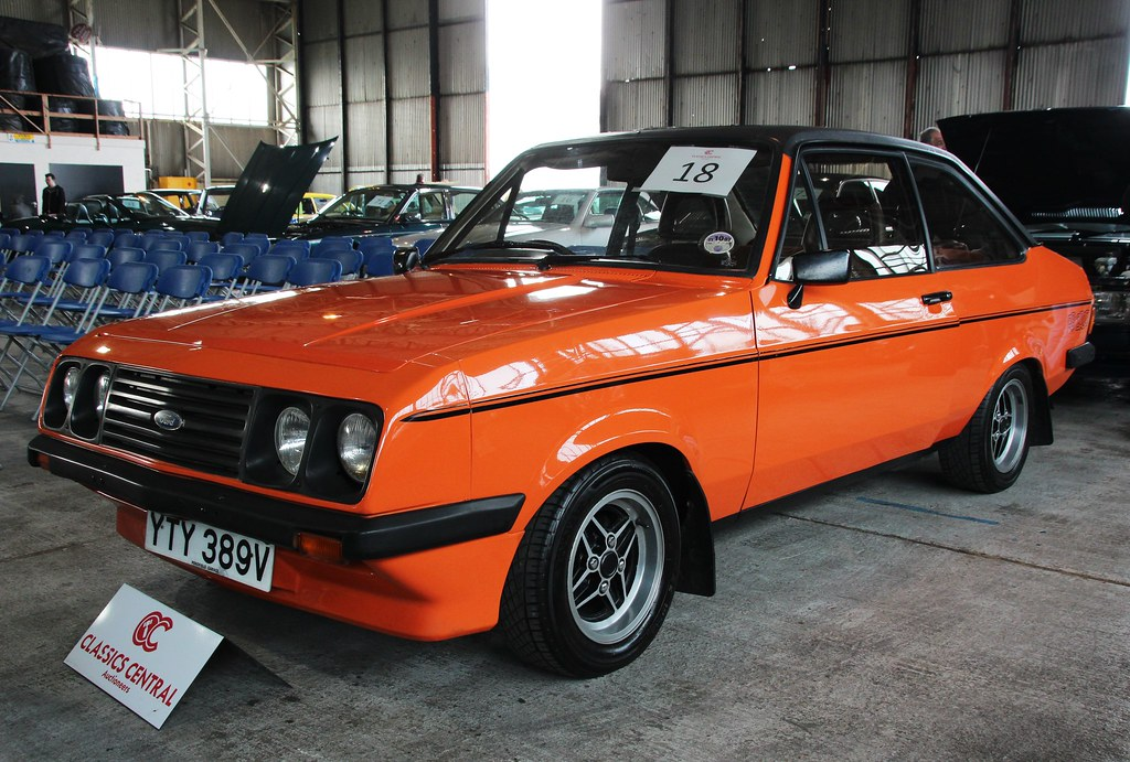 YTY 389V | 1979 Ford Escort RS2000 Custom. 12 previous ...