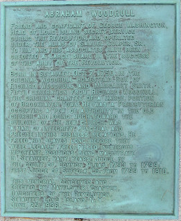 Abraham Woodhull Plaque