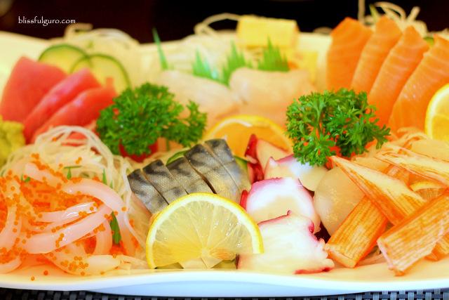 Cafe Kyoto Balanga Bataan Sashimi Platter