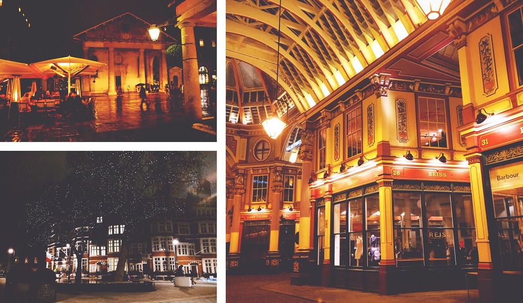 Covent Garden, Grosvenor Square and Leaden Hall Market, London | via It's Travel O'Clock