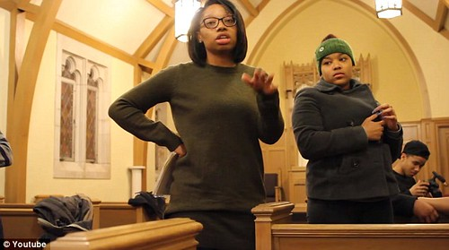 TENSE ENCOUNTER VIDEO:  Black students demand white reporters leave Mizzou gathering