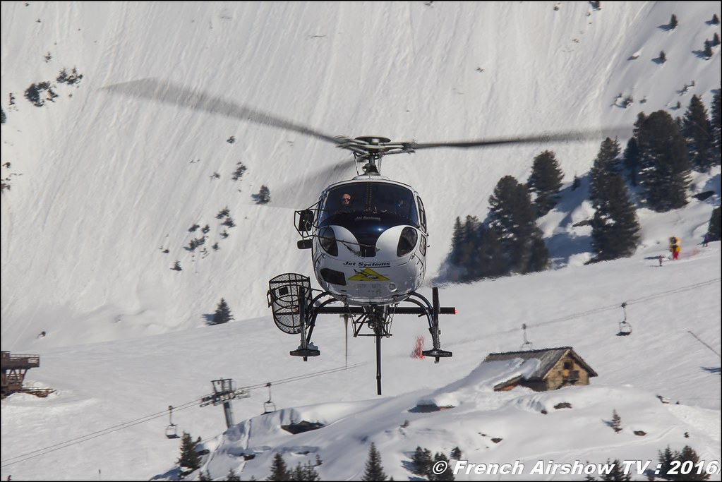 Aérospatiale AS-350 B3 Ecureuil - F-HEIN,Jet Systems- Salon Hélicoptère à Courchevel 2016, Meeting Aerien 2016