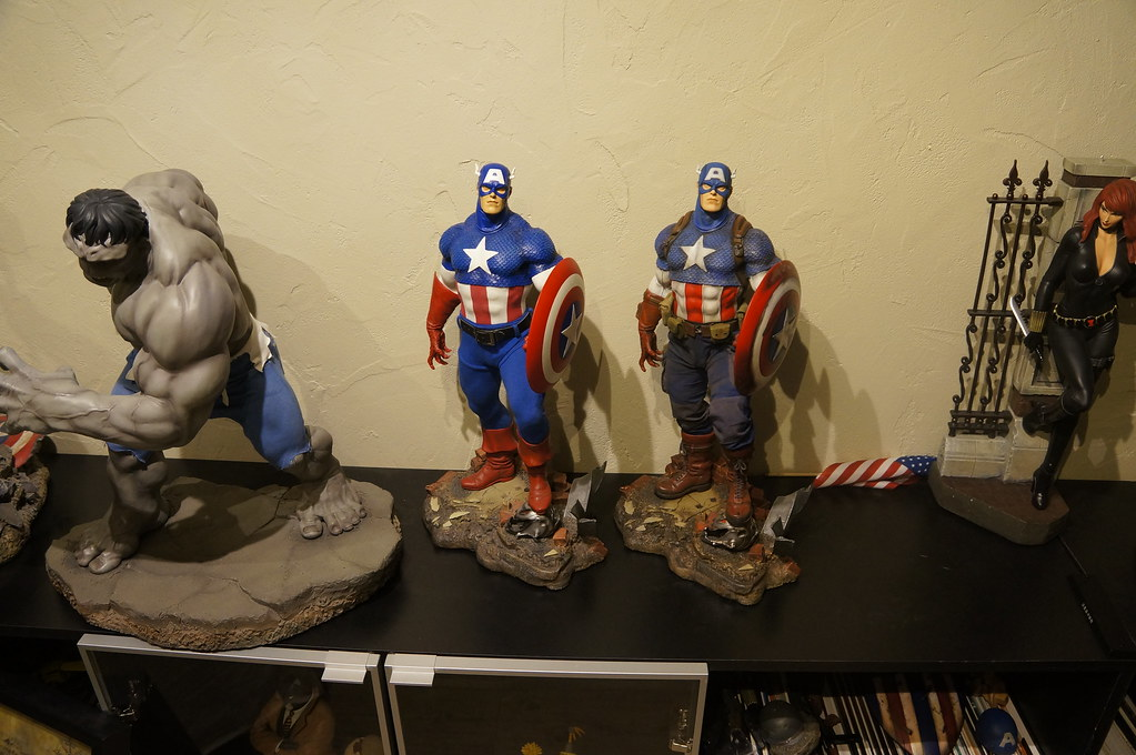 Custom Captain America Premium Format  25508473666_31a72133a5_b