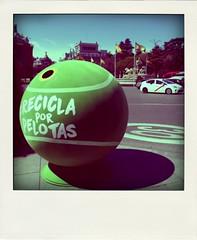 Recycling balls