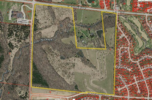 133-acre Kroenke parcel. 2018 tax: $382.92