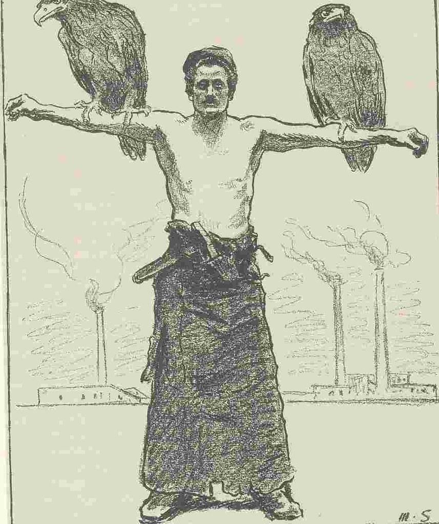 Max Slevogt 慶祝五一海報,1903