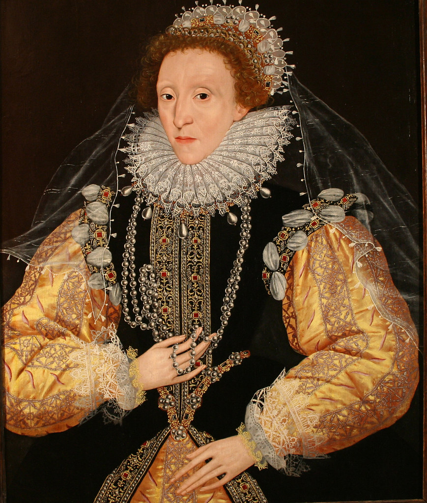 Portrait of Elizabeth I of England by George Gower, 1580s