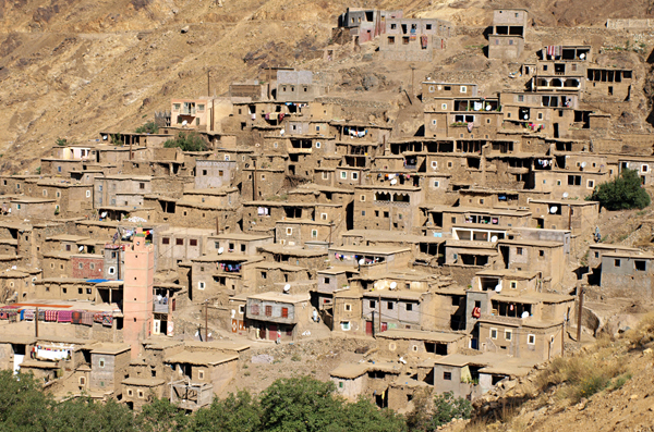 Berber Village, Atlas Mountains, Morocco