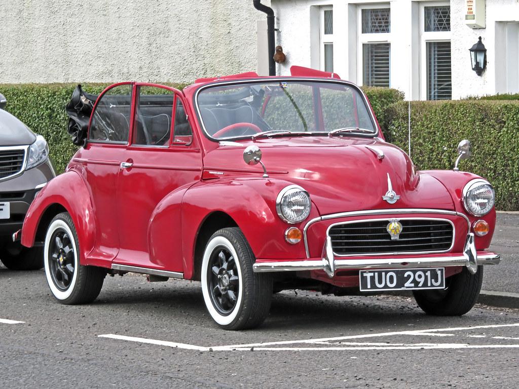 Tuo291j Morris Minor 1000 Tuo291j 1970 Morris Minor