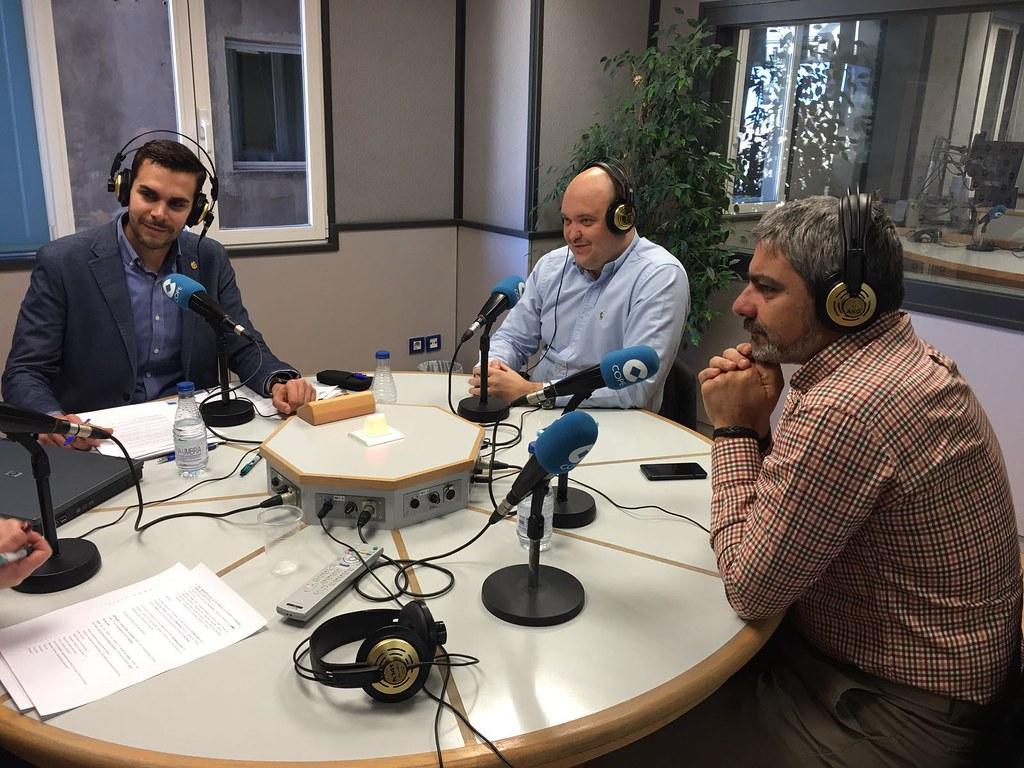 Thumbnail for El COIGT Hablando de drones en la radio en el 92.6FM de COPE Valencia