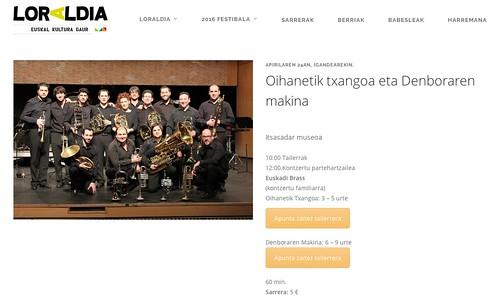 Euskadi Brass Loraldia 2016
