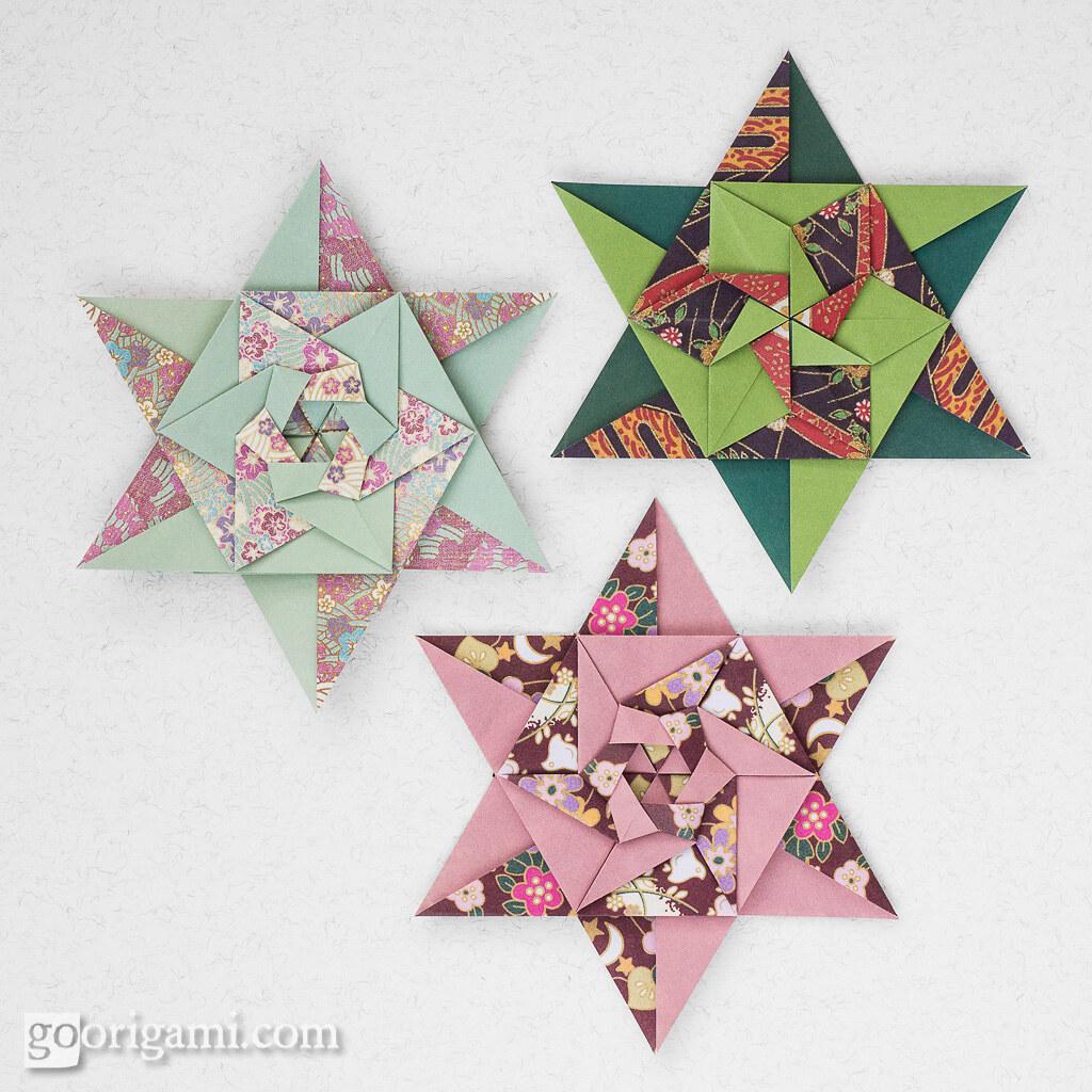 Modular Origami Stars   Modular Origami Stars (Maria ... - photo#39