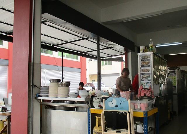 Yisen Cafe kampua stall