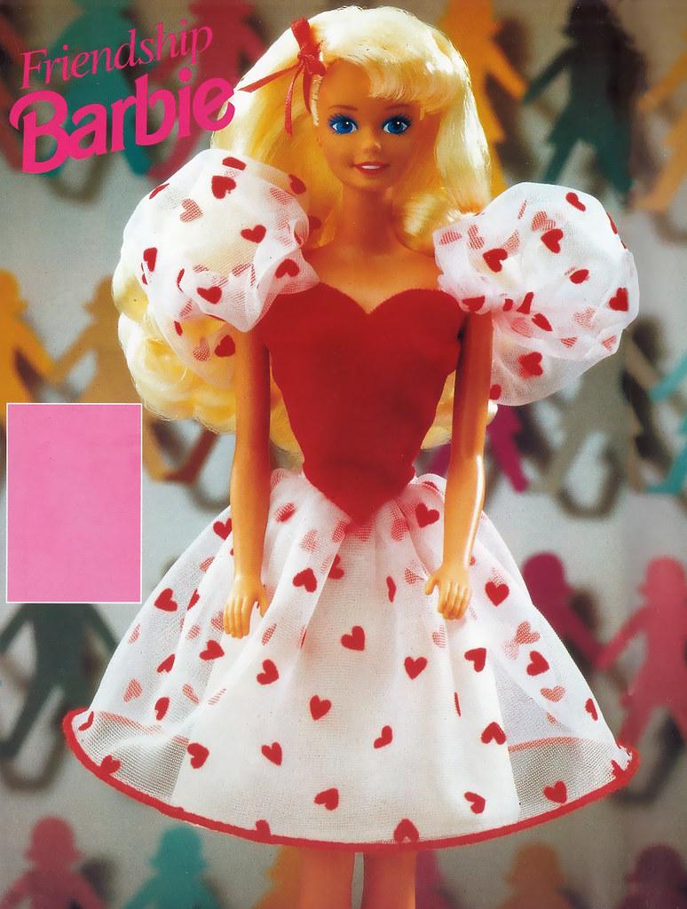 Image result for 1991 Friendship Barbie description