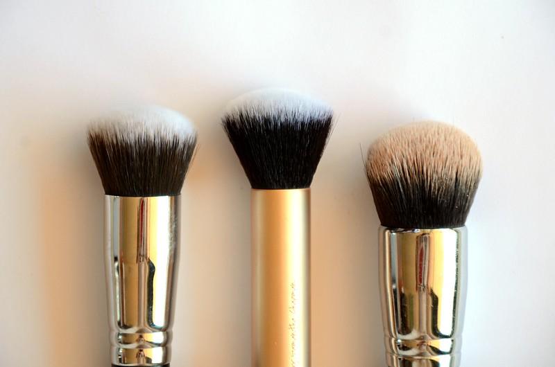 Hairbrush meets bare bottom