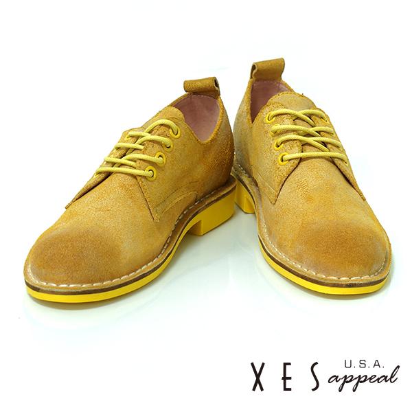 XES,專櫃鞋款,休閒鞋,真皮,棕色