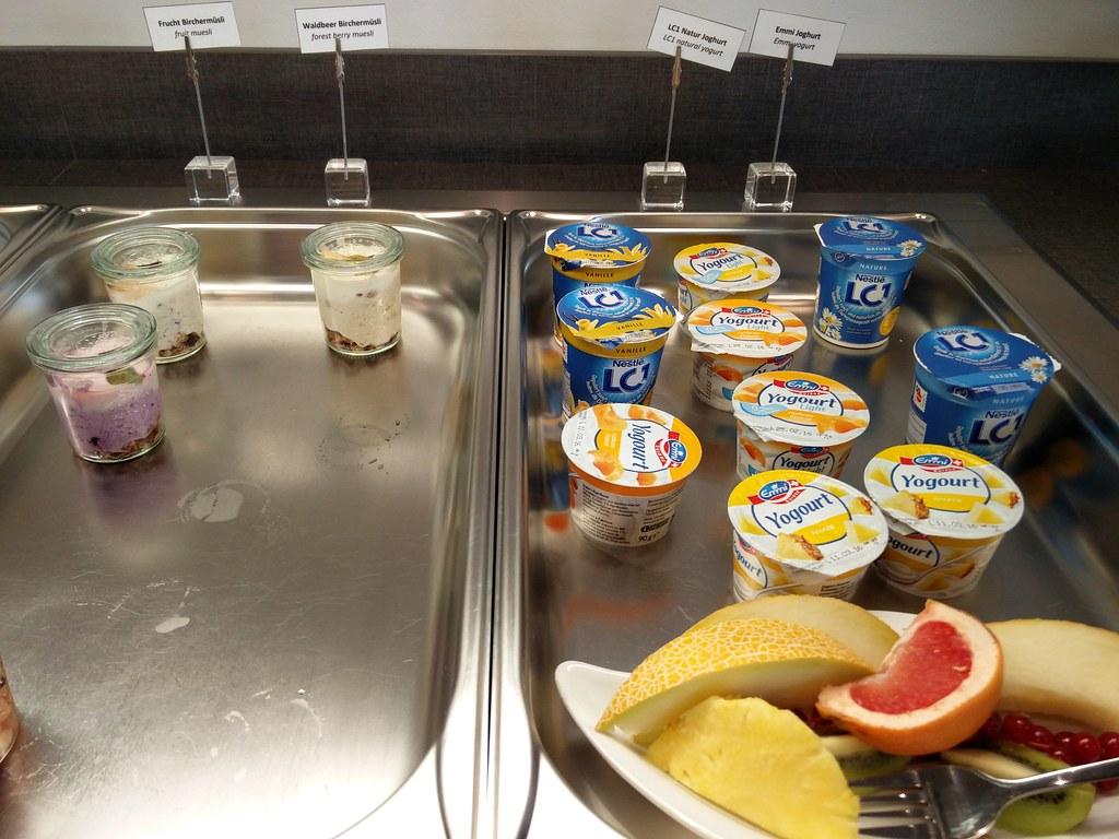 Yogurt and Muesli