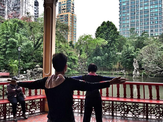 Practicando Tai Chi en Macao