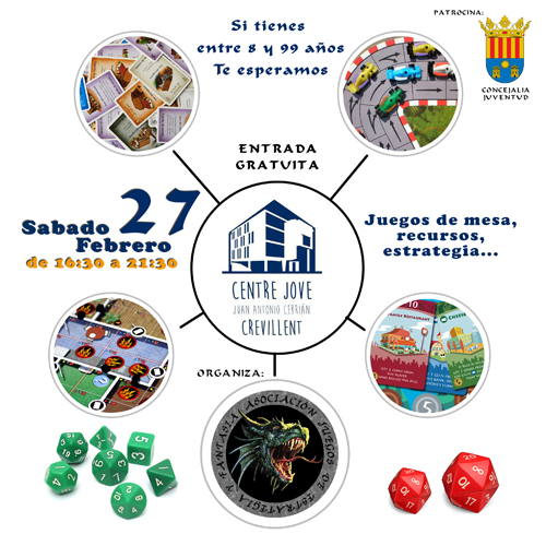 "Tarde de juegos ""Centre Jove"" 27 Febrero - Crevillent 24017961204_4fd054ff41_o"
