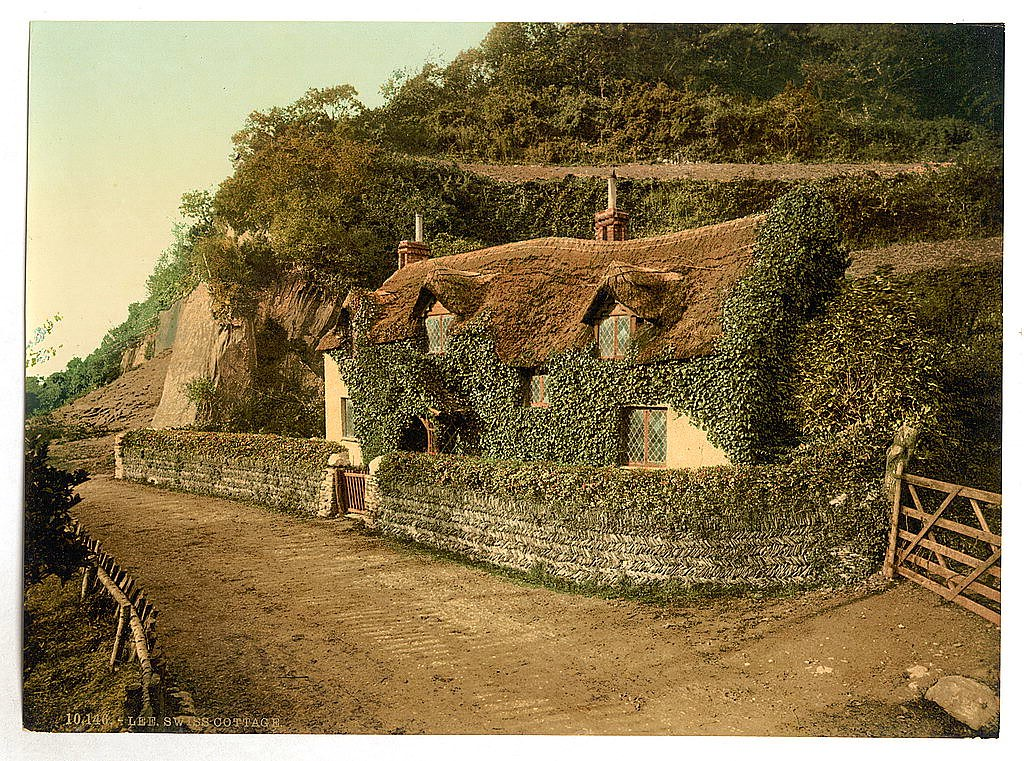 Swiss cottage, Lee, Devon