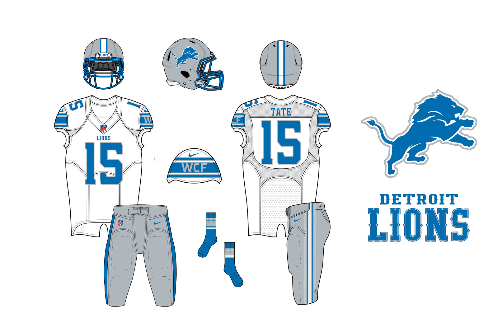 best sneakers 1987d b2a21 Uni Watch contest results: How you would redesign the Lions ...