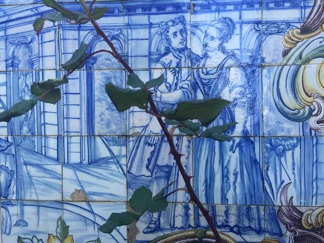 Detalle de la Quinta dos Azulejos (Lisboa, Portugal)