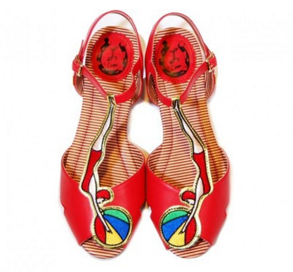 miss l-fire bathing beauty shoes