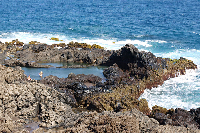 Rock pools, Buenavista del Norte, Tenerife