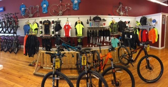 Pedal Power Middletown CT Mountain Bike Display