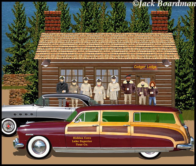 The new Codger Lodge ©Jack Boardman