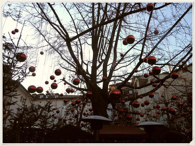 All'interno del Palais Campofranco, Bolzano natalizia