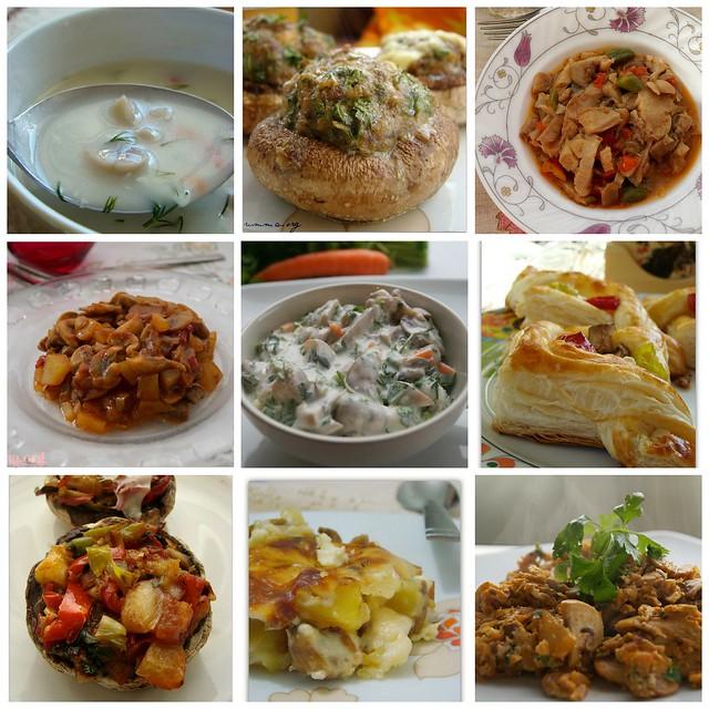mantar yemekleri