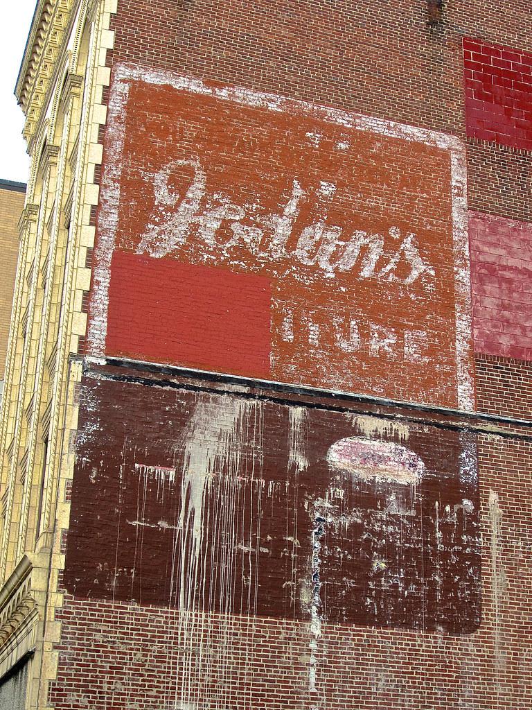 Furniture Ghost Sign Allentown Pa Ghost Sign For A Furni Flickr