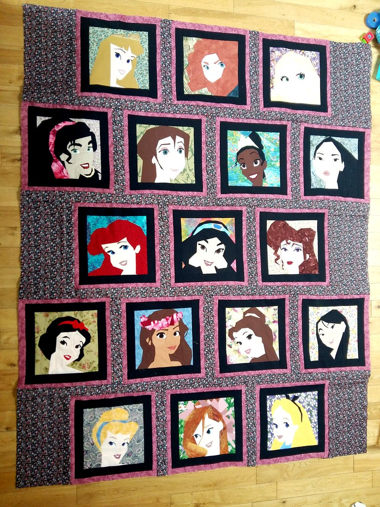 Disney Princess and Leading Ladies quilt... almost finishe… | Flickr : disney princess quilt - Adamdwight.com